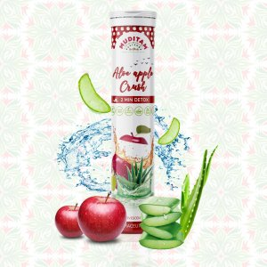 aloe apple crush juice